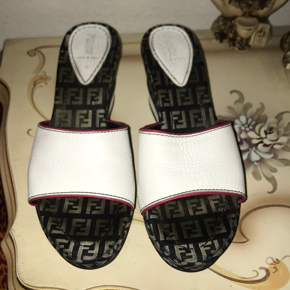 2408832c6 Fendi Shoes | Authentic Vintage Slides | Poshmark